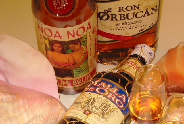 Whisky und Rum Kombinationstasting