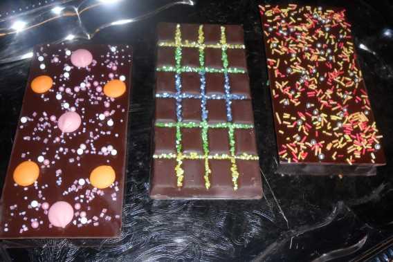 Schokolade selber machen bei barbarasKochschule in Schwetzingen bei Mannheim / Heidelberg