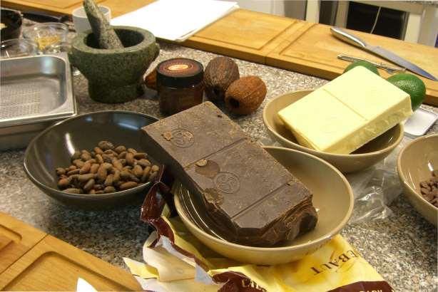 Schokoladen Kurse und Pralinenkurs