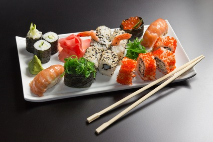 Sushi bei Ihnen Zuhause